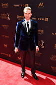 Actor Van Hansis walks the red carpet at the 43rd Annual Daytime Emmy Awards at the Westin Bonaventure Hotel on May 1 2016 in Los Angeles California