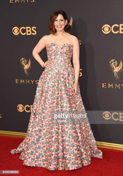 Actor Vanessa Bayer attends the 69th Annual Primetime Emmy Awards at Microsoft Theater on September 17 2017 in Los Angeles California