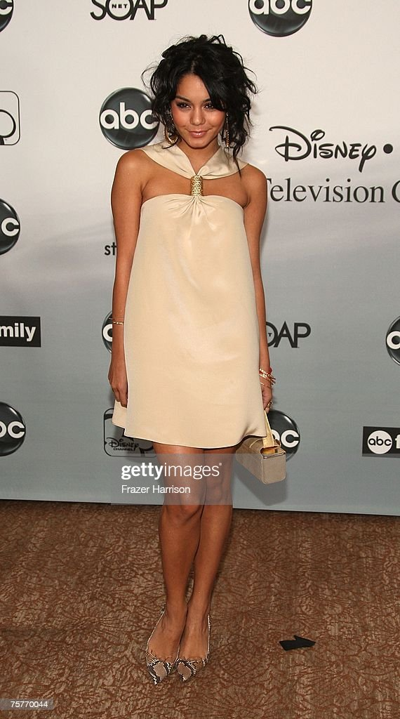 Actor Vanessa Hudgens attends the 2007 ABC All Star Party held at the Beverly Hilton Hotel, on July 26 2007, in Beverly Hills, California.