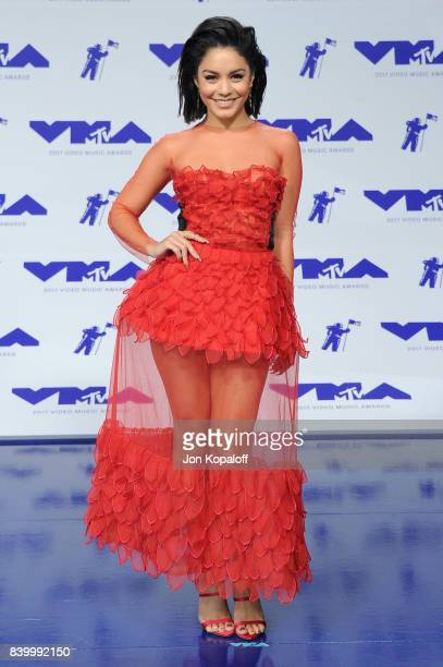 Actor Vanessa Hudgens attends the 2017 MTV Video Music Awards at The Forum on August 27 2017 in Inglewood California