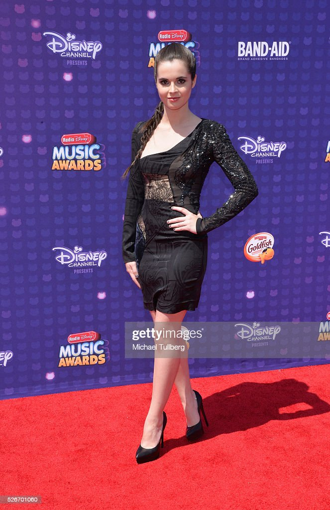 Actor Vanessa Marano arrives at the 2016 Radio Disney Music Awards at Microsoft Theater on April 30, 2016 in Los Angeles, California.