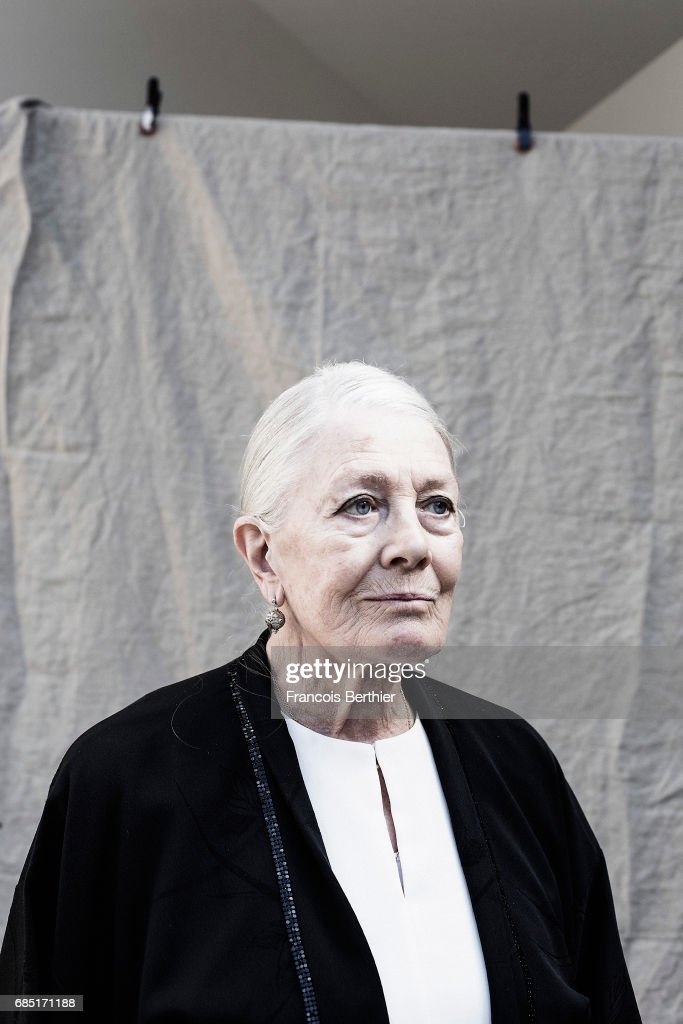 Actor Vanessa Redgrave is photographed on May 18, 2017 in Cannes, France.