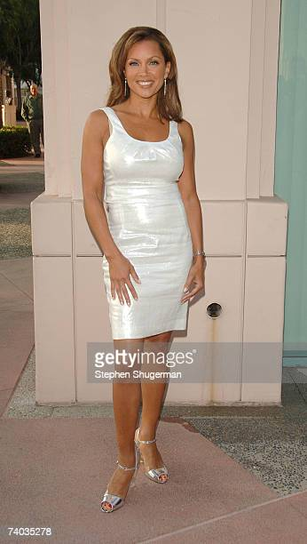 Actor Vanessa Williams attends The Academy of Television Arts Sciences presents An Evening with 'Ugly Betty' at The Leonard Goldenson Theater on...