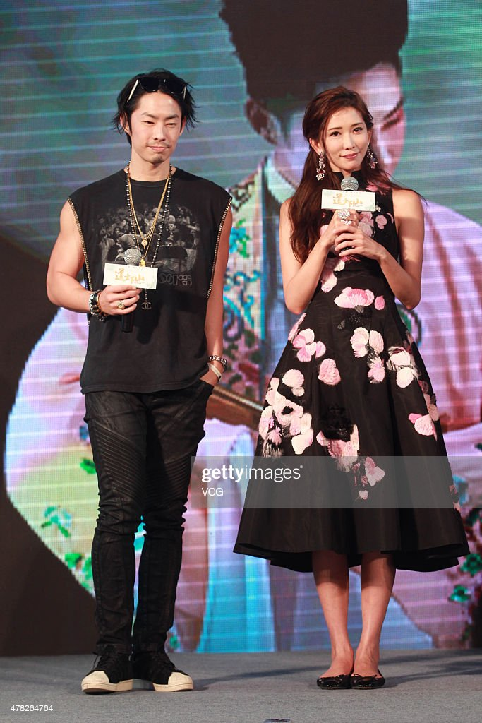 Actor <a gi-track='captionPersonalityLinkClicked' href=/galleries/search?phrase=Vanness+Wu&family=editorial&specificpeople=644546 ng-click='$event.stopPropagation()'>Vanness Wu</a> and actress Chiling Lin attend 'Monk Comes Down The Mountain' press conference on June 24, 2015 in Beijing, China.