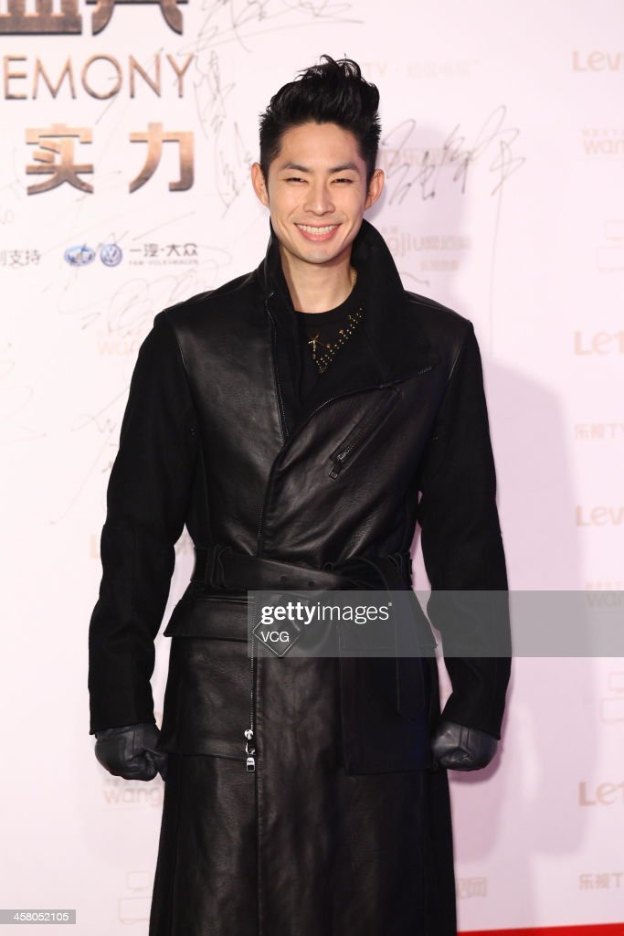 Actor Vanness Wu attends the 4th LETV Award Ceremony at China World Summit Wing on December 19, 2013 in Beijing, China.