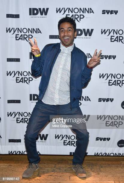 Actor Varun Saranga at the 'Wynonna Earp' Media Mixer with cast and Fan Appreciation Party during ComicCon International 2017 on July 20 2017 in San...