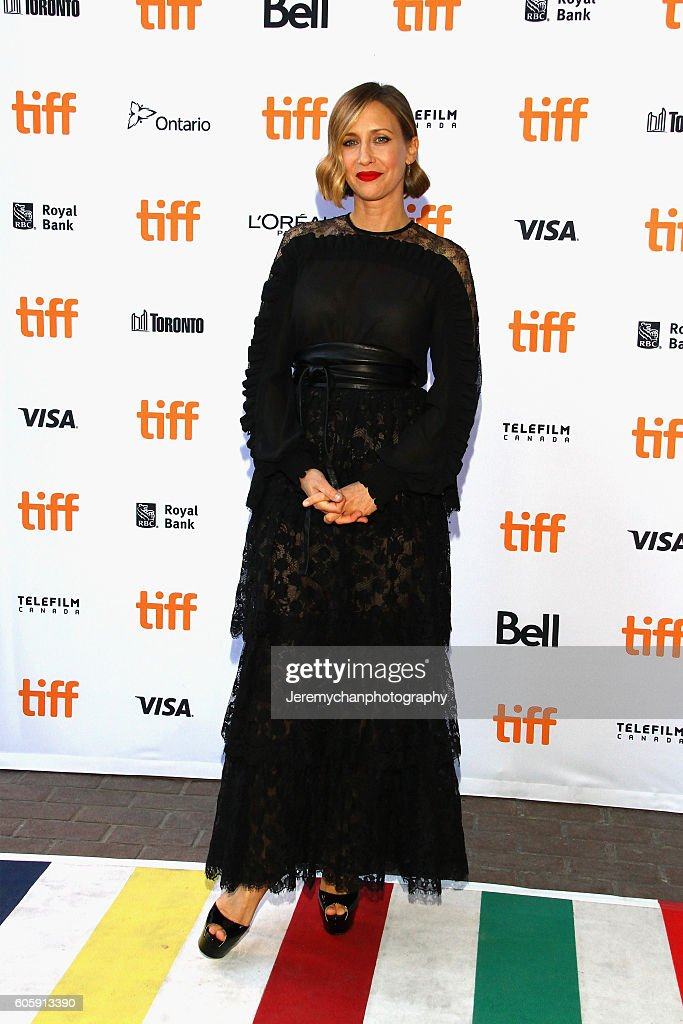 Actor Vera Farmiga attends the 'Burn Your Maps' premiere held at Ryerson Theatre during the Toronto International Film Festival on September 15, 2016 in Toronto, Canada.