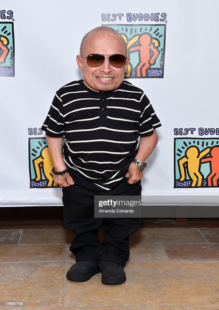 Actor <a gi-track='captionPersonalityLinkClicked' href=/galleries/search?phrase=Verne+Troyer&family=editorial&specificpeople=1521173 ng-click='$event.stopPropagation()'>Verne Troyer</a> attends the Team Maria benefit for Best Buddies at Montage Beverly Hills on August 18, 2013 in Beverly Hills, California.