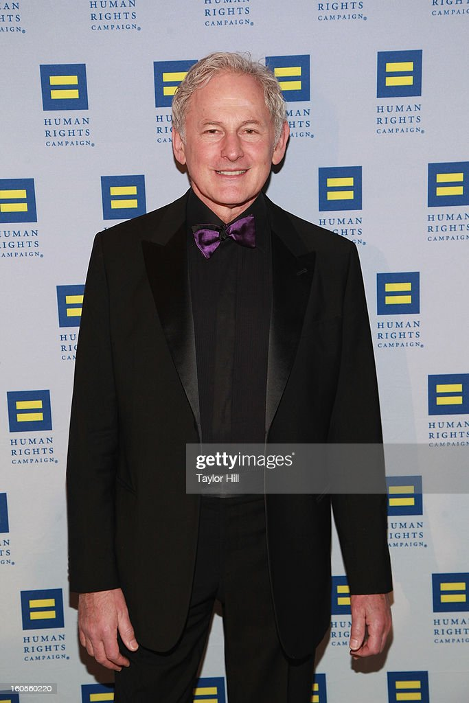 Actor <a gi-track='captionPersonalityLinkClicked' href=/galleries/search?phrase=Victor+Garber&family=editorial&specificpeople=208795 ng-click='$event.stopPropagation()'>Victor Garber</a> attends The 2013 Greater New York Human Rights Campaign Gala at The Waldorf=Astoria on February 2, 2013 in New York City.