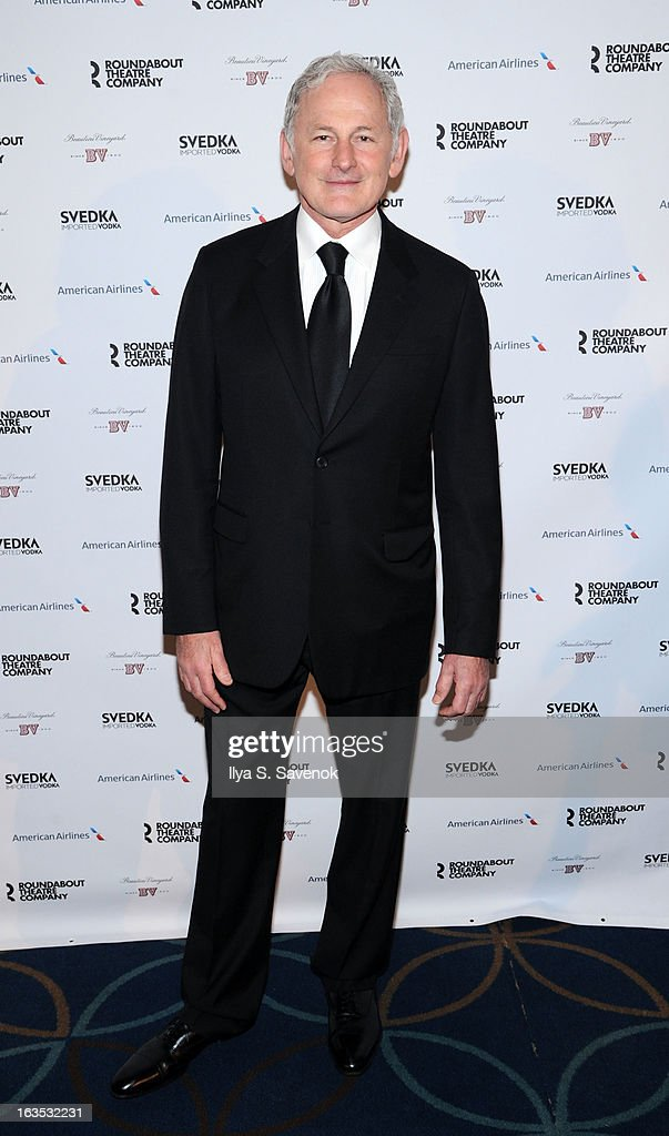 Actor Victor Garber attends the 2013 Roundabout Theatre Company Spring Gala at Hammerstein Ballroom on March 11, 2013 in New York City.