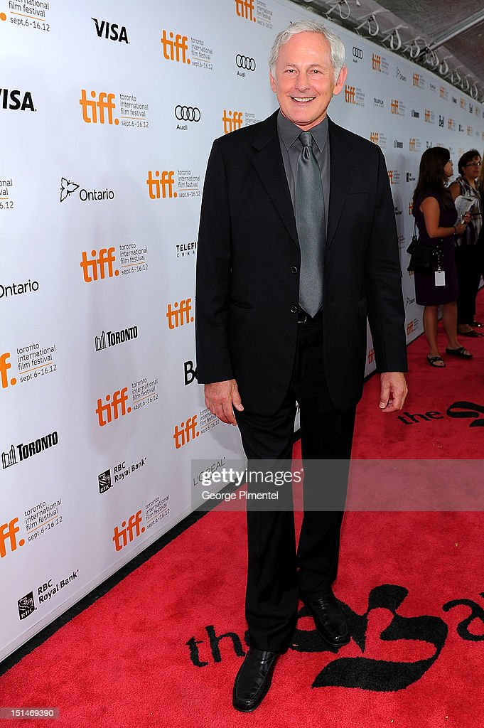Actor <a gi-track='captionPersonalityLinkClicked' href=/galleries/search?phrase=Victor+Garber&family=editorial&specificpeople=208795 ng-click='$event.stopPropagation()'>Victor Garber</a> attends the 'Argo' premiere during the 2012 Toronto International Film Festival at Roy Thomson Hall on September 7, 2012 in Toronto, Canada.