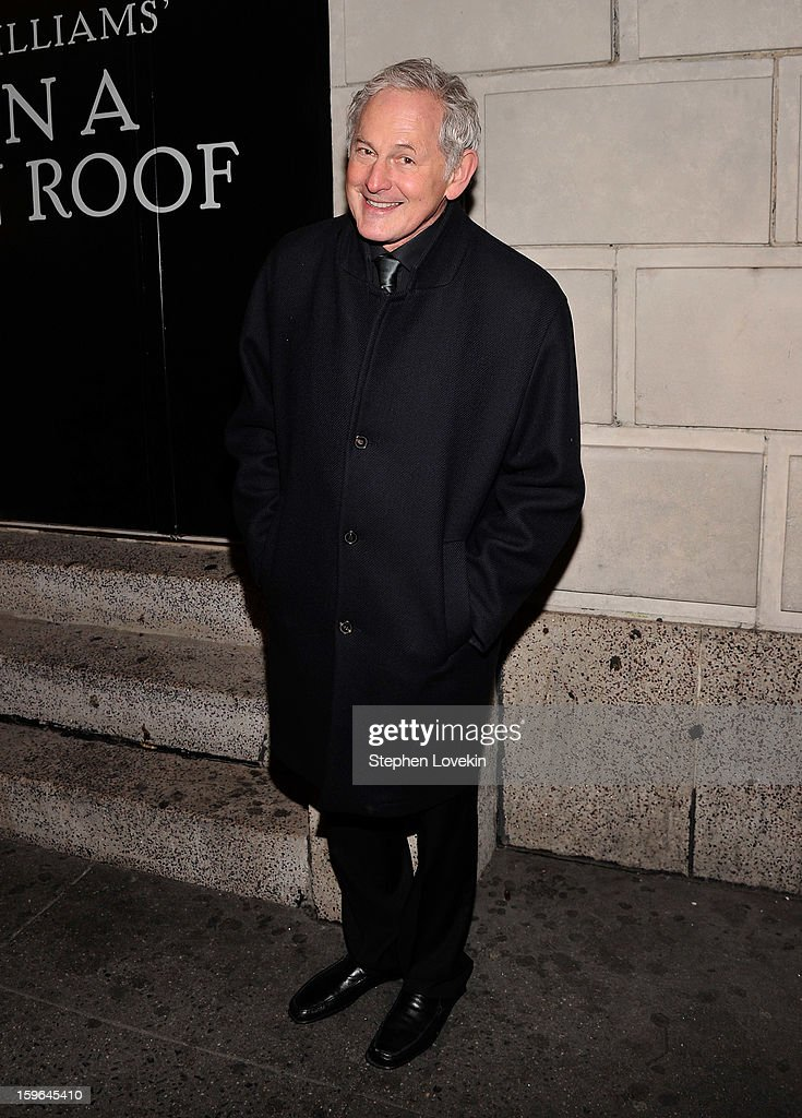 Actor Victor Garber attends the 'Cat On A Hot Tin Roof' Opening Night at Richard Rodgers Theatre on January 17, 2013 in New York City.