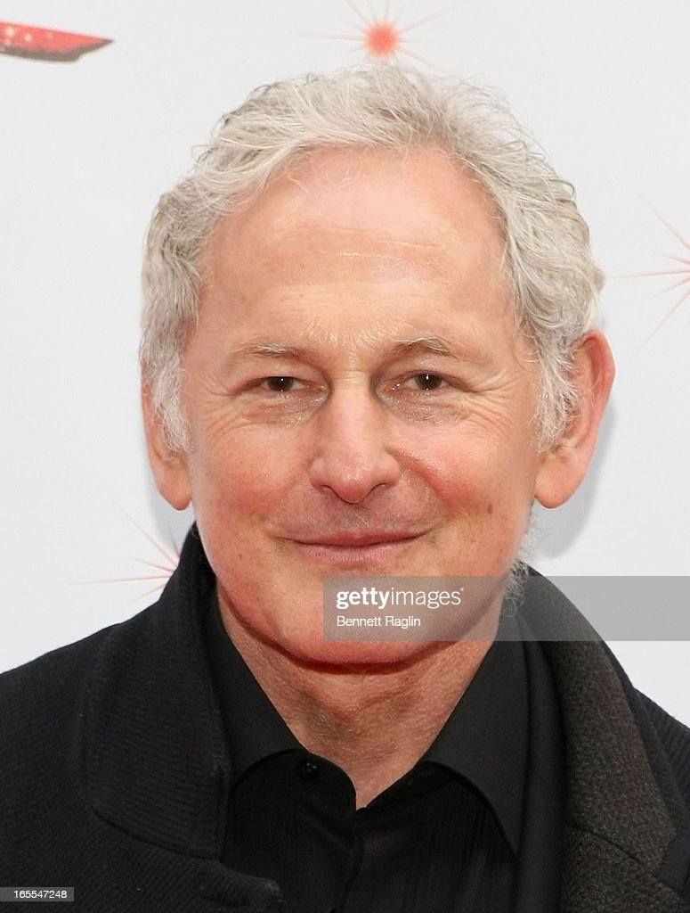 Actor <a gi-track='captionPersonalityLinkClicked' href=/galleries/search?phrase=Victor+Garber&family=editorial&specificpeople=208795 ng-click='$event.stopPropagation()'>Victor Garber</a> attends the Media Opening for Kinky Boots on Broadway, 'KinkyBway', at the Al Hirschfeld Theatre on April 4, 2013 in New York City.