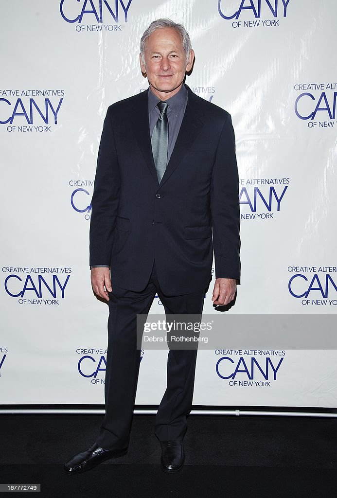 Actor <a gi-track='captionPersonalityLinkClicked' href=/galleries/search?phrase=Victor+Garber&family=editorial&specificpeople=208795 ng-click='$event.stopPropagation()'>Victor Garber</a> attends The Pearl Gala 2013 at The Edison Ballroom on April 29, 2013 in New York City.