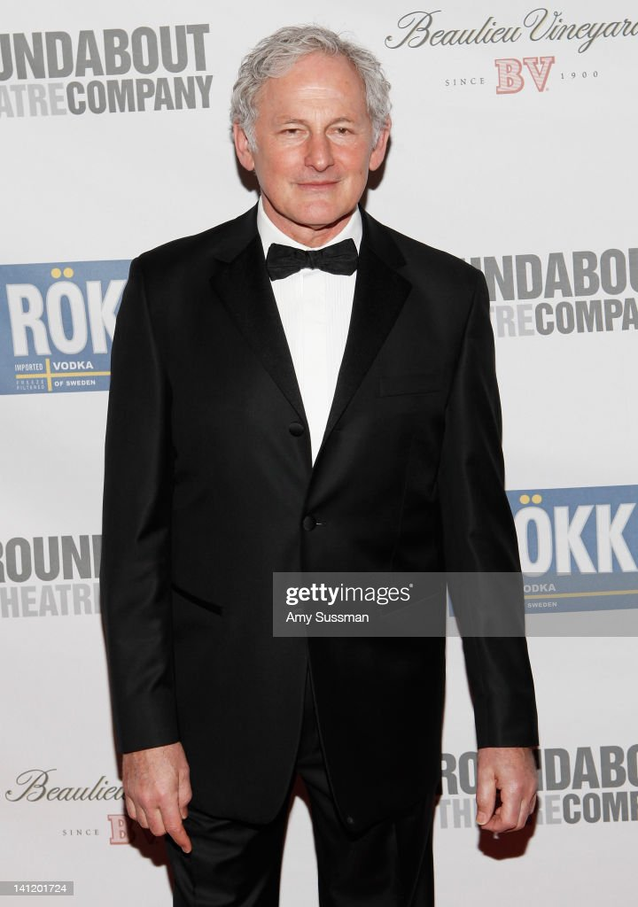 Actor <a gi-track='captionPersonalityLinkClicked' href=/galleries/search?phrase=Victor+Garber&family=editorial&specificpeople=208795 ng-click='$event.stopPropagation()'>Victor Garber</a> attends The Roundabout Theatre 2012 Spring Gala 'From Screen to Stage' dinner and auction at the Hammerstein Ballroom on March 12, 2012 in New York City.