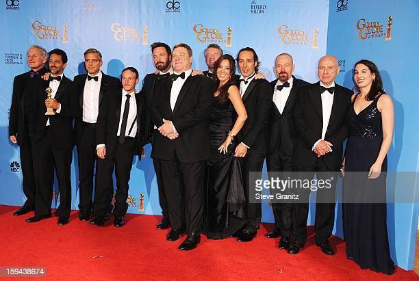 Actor Victor Garber producer Grant Heslov actorproducer George Clooney actordirector Ben Affleck actors John Goodman and Tate Donovan producer Chay...