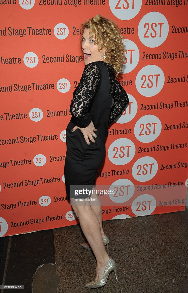 Actor Victoria Clark attends 'Dear Evan Hansen' Off-Broadway opening celebration at Second Stage Theatre on May 1, 2016 in New York City.