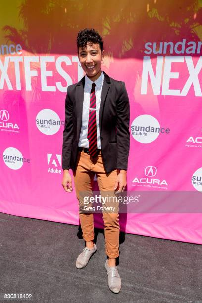 Actor Victoria Ortiz arrives for the 2017 Sundance NEXT FEST at The Theater at The Ace Hotel on August 12 2017 in Los Angeles California