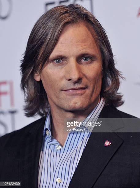 Actor Viggo Mortensen arrives at AFI Fest 2009 'The Road' Los Angeles Premiere at Grauman's Chinese Theatre on November 4 2009 in Hollywood California
