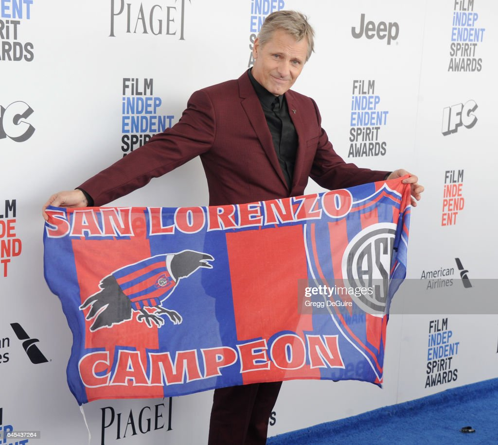 Actor Viggo Mortensen arrives at the 2017 Film Independent Spirit Awards on February 25, 2017 in Santa Monica, California.