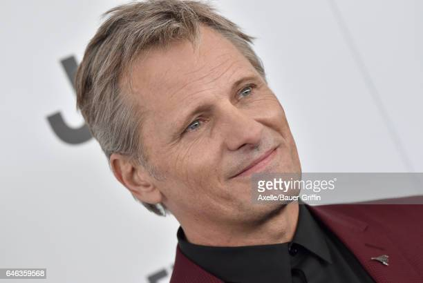 Actor Viggo Mortensen arrives at the 2017 Film Independent Spirit Awards on February 25 2017 in Santa Monica California