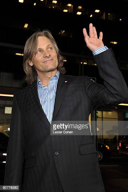 Actor Viggo Mortensen arrives at the AFI Fest 2009 gala screening of 'The Road' at Grauman's Chinese Theatre on November 4 2009 in Hollywood...