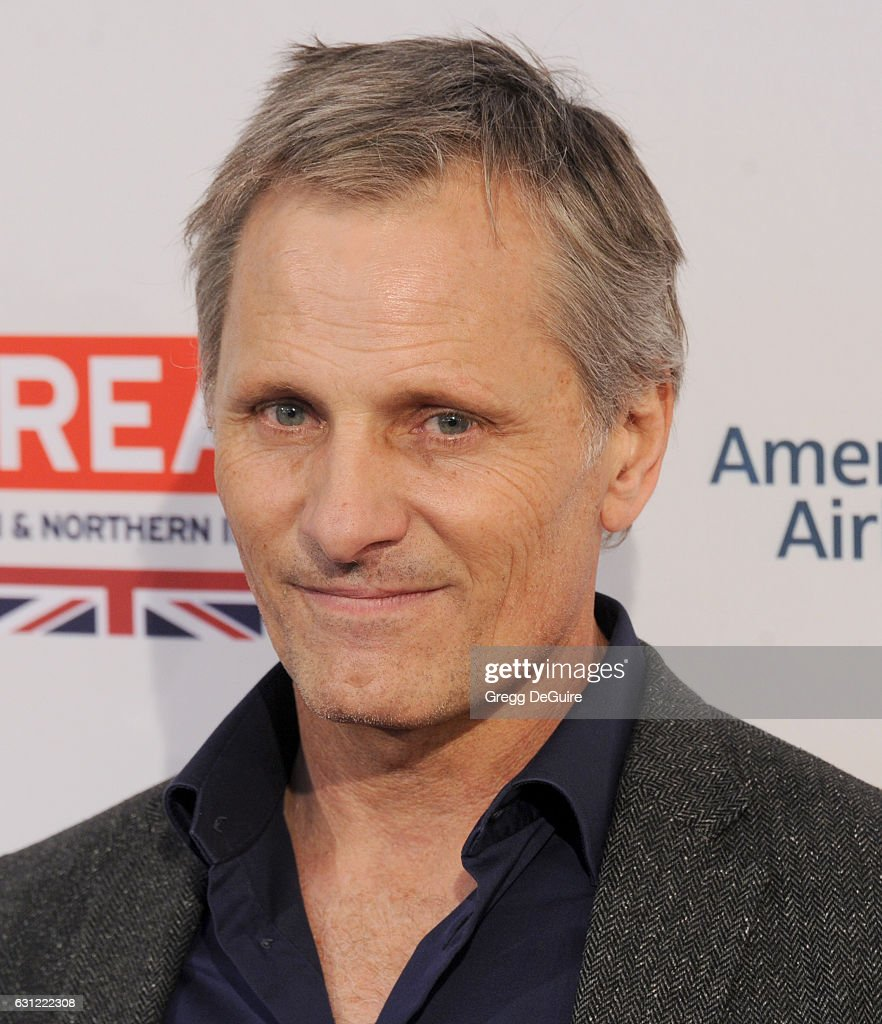 Actor Viggo Mortensen arrives at The BAFTA Tea Party at Four Seasons Hotel Los Angeles at Beverly Hills on January 7, 2017 in Los Angeles, California.