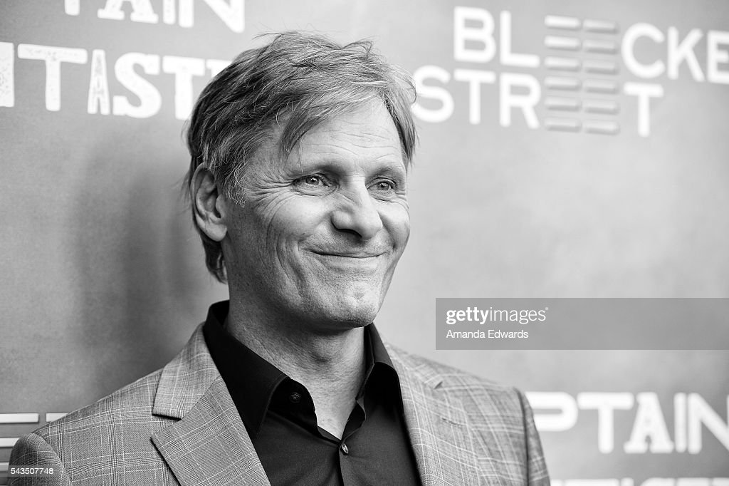 Actor Viggo Mortensen arrives at the premiere of Bleecker Street Media's 'Captain Fantastic' at Harmony Gold on June 28, 2016 in Los Angeles, California.