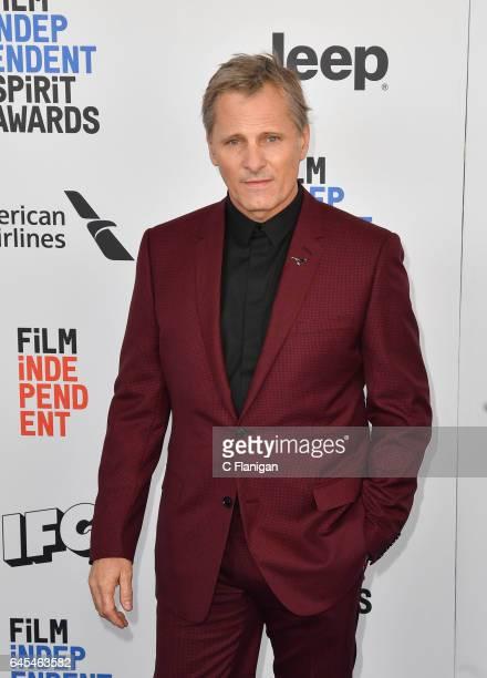 Actor Viggo Mortensen attends the 2017 Film Independent Spirit Awards at the Santa Monica Pier on February 25 2017 in Santa Monica California