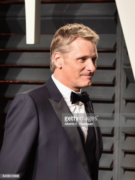 Actor Viggo Mortensen attends the 2017 Vanity Fair Oscar Party hosted by Graydon Carter at Wallis Annenberg Center for the Performing Arts on...