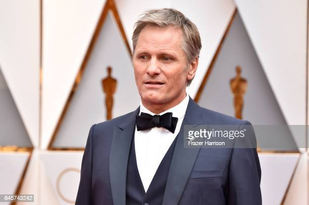 Actor Viggo Mortensen attends the 89th Annual Academy Awards at Hollywood Highland Center on February 26 2017 in Hollywood California