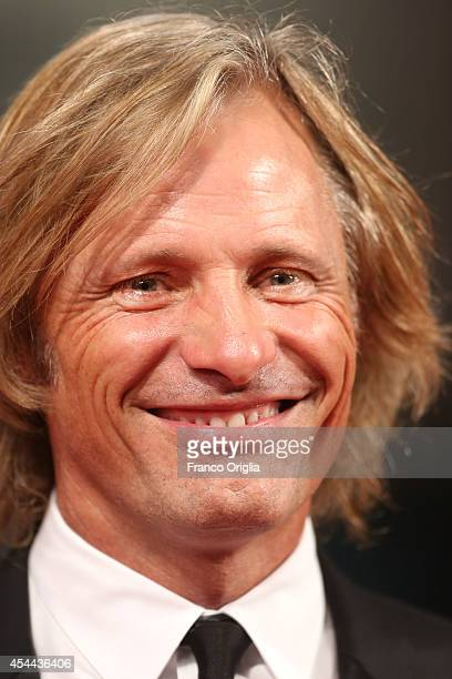 Actor Viggo Mortensen attends the 'Loin Des Hommes' premiere during the 71st Venice Film Festival on August 31 2014 in Venice Italy
