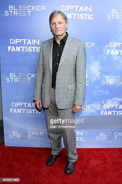 Actor Viggo Mortensen attends the premiere of Bleecker Street Media's 'Captain Fantastic' at Harmony Gold on June 28 2016 in Los Angeles California