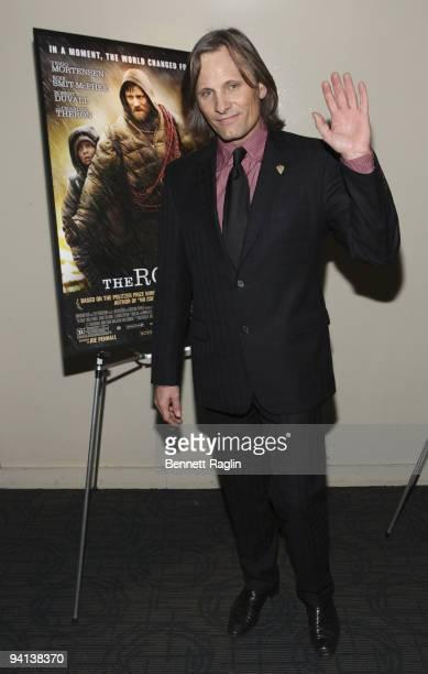 Actor Viggo Mortensen attends the screening of 'The Road' during the 2009 New york Variety Screening Series at Landmark's Sunshine Cinema on December...