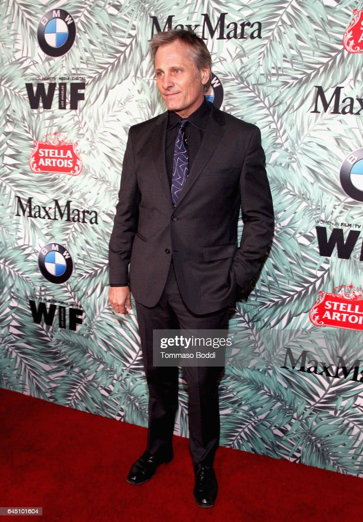 Actor Viggo Mortensen attends the tenth annual Women in Film Pre-Oscar Cocktail Party presented by Max Mara and BMW at Nightingale Plaza on February 24, 2017 in Los Angeles, California.