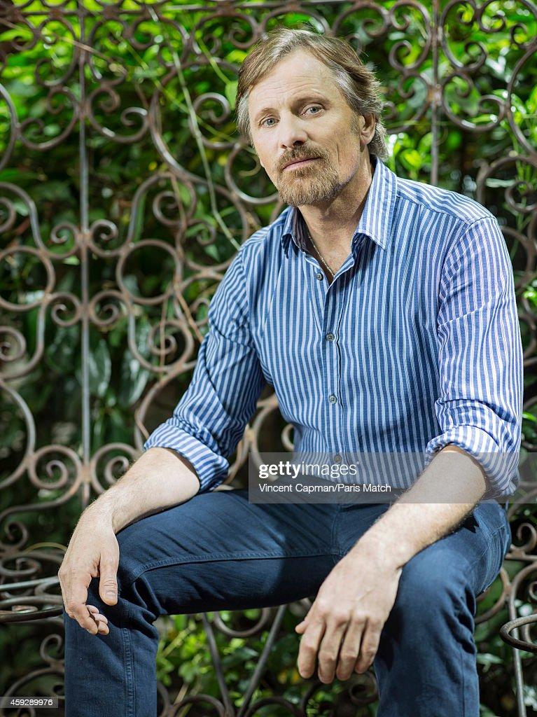 Viggo Mortensen, Paris Match Issue 3414, October 24, 2014