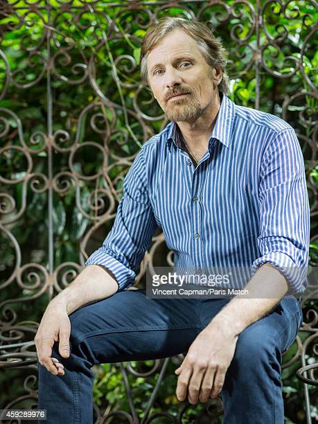 Actor Viggo Mortensen is photographed for Paris Match on April 3 2014 in Paris France