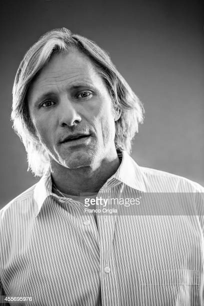 Actor Viggo Mortensen is photographed for Self Assignment on September 2 2014 in Venice Italy