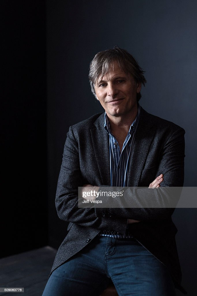 Actor Viggo Mortensen of 'Captain Fantastic' poses for a portrait at the 2016 Sundance Film Festival on January 23, 2016 in Park City, Utah.