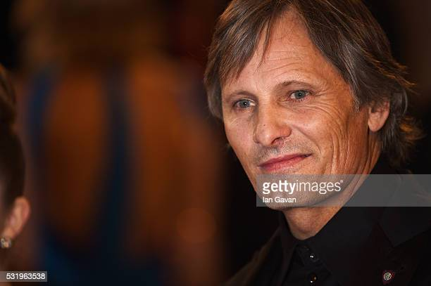 Actor Viggo Mortensen poses as he arrives for the screening of the film 'Captain Fantastic' ahead of the 'Personal Shopper' premiere during the 69th...