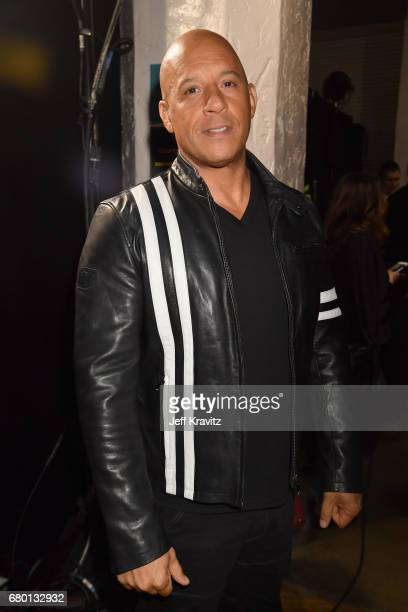 Actor Vin Diesel attends the 2017 MTV Movie And TV Awards at The Shrine Auditorium on May 7 2017 in Los Angeles California