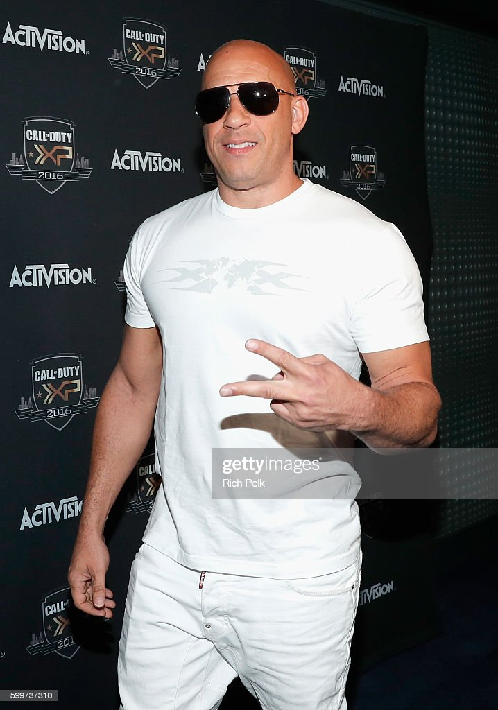 Actor Vin Diesel attends The Ultimate Fan Experience, Call Of Duty XP 2016, presented by Activision, at The Forum on September 3, 2016 in Inglewood, California.