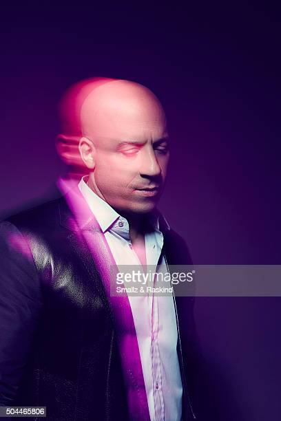 Actor Vin Diesel poses for a portrait at the 2016 People's Choice Awards at the Microsoft Theater on January 6 2016 in Los Angeles California