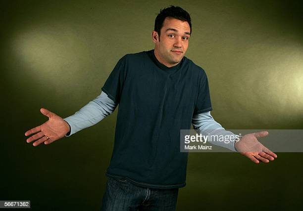 Actor Vince Pavia of the film 'Forgiving The Franklins' poses for a portrait at the Getty Images Portrait Studio during the 2006 Sundance Film...