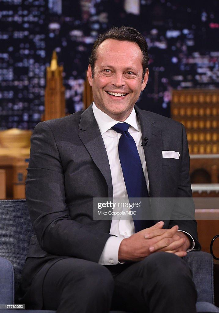 "Vince Vaughn Visits ""The Tonight Show Starring Jimmy Fallon"""