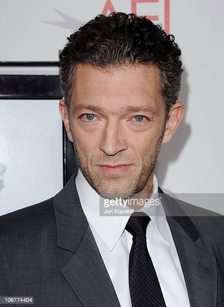 Actor Vincent Cassel arrives at the 2010 AFI Fest 'Black Swan' Premiere Closing Night Gala at Grauman's Chinese Theatre on November 11 2010 in...