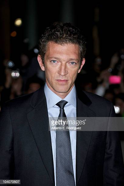 Actor Vincent Cassel arrives at the 'Black Swan' Premiere held at Roy Thomson Hall during the 35th Toronto International Film Festival on September...