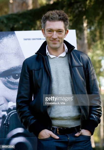 Actor Vincent Cassel attends a photocall for the movie 'Death Instinct' Part 1 on February 20 2009 in Rome ItalyThis is the first part of a movie...