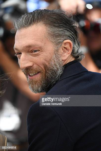 Actor Vincent Cassel attends 'It's Only The End Of The World ' during the Photocall The 69th Annual Cannes Film Festival on May 19 2016 in Cannes