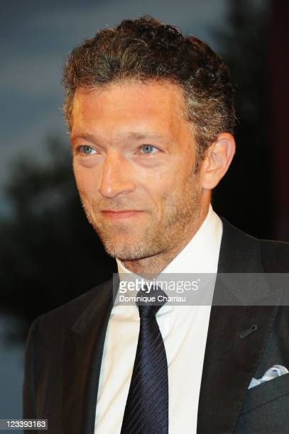 actor Vincent Cassel attends the 'A Dangerous Method' Premiere during the 68th Venice International Film Festival at Palazzo del Cinema on September...